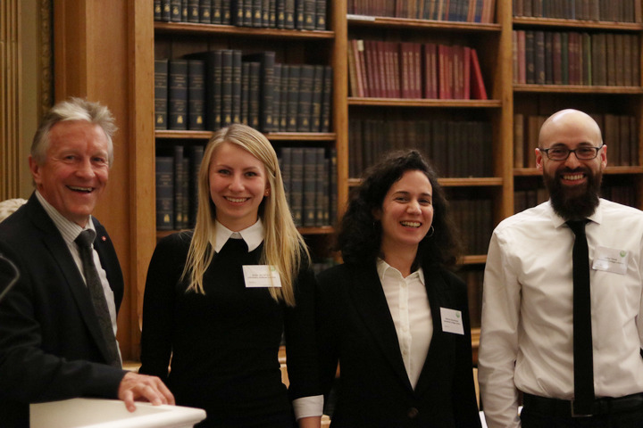 Invecta Solutions from the University College London at the YES19 Final hosted at the Royal Society